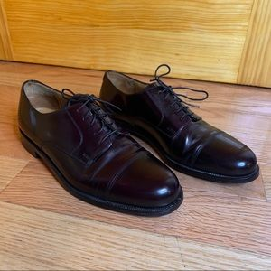 COLE HAAN Caldwell Oxford Dress Shoes Burgundy